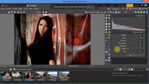 Úprava fotek online v programu Zoner