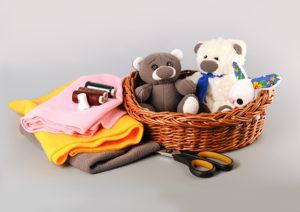 Šití výbavičky pro miminko