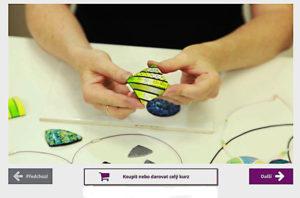 FIMO textury a polymery
