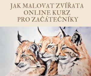 Jak malovat zvířata online kurz pro začátečníky