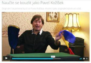 Naučte se kouzlit jako Pavel Kožíšek