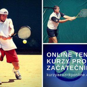 Online kurz pro začínající tenisty – naučte se hrát tenis online