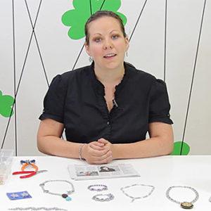 Chainmaille šperky z drátků a korálků (kroužkování)