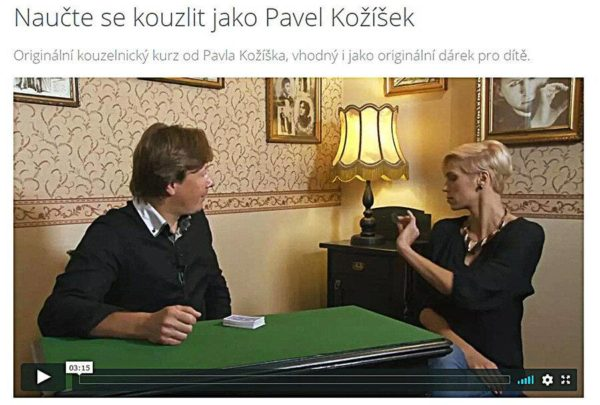 Fotografie kouzelnický kurz Pavla Kožíška