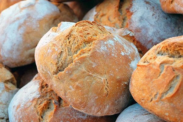 Fotografie celozrnný chléb