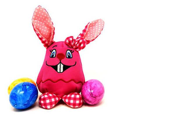 Fotografie zajíčka Inspirace na Velikonoce pro rodiče a děti