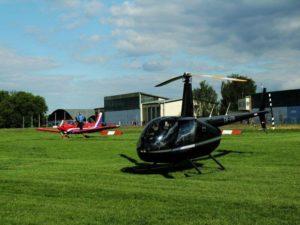 Dobrodružný let ve vrtulníku