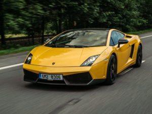 Jízda v Lamborghini na Moravě