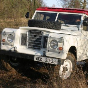Land Rover offroad