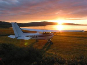 Romantický let letadlem pro dva