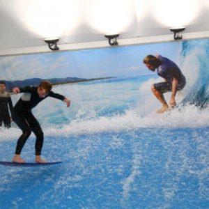 Surf Arena – surfařský simulátor + videozáznam
