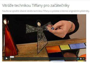Vitráže technikou Tiffany pro začátečníky