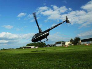 Vyhlídkový let ve vrtulníku nad Prahou