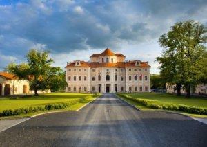 Fotografie wellnes pobytu na zámku