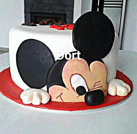 Fotografie: dětský dort Mickey