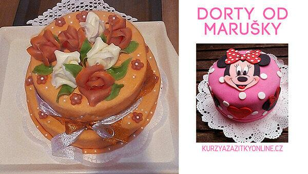 Fotografie dortů Marušky dorty - narozeninové dorty, dětské dorty
