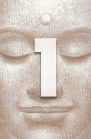 Wizard+Genius W+G Giant Art® Smějící se Buddha 115×175 cm