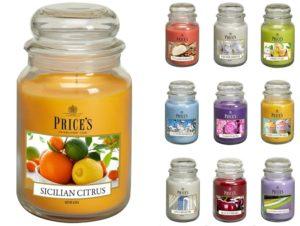 Price´s SIGNATURE MAXI svíčka ve skle Voňavé lesní plody, hoření 150h