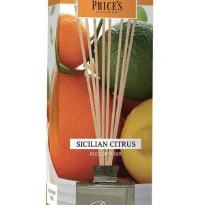 Price´s FRAGRANCE vonný difuzér Sicilské citrusy 100ml