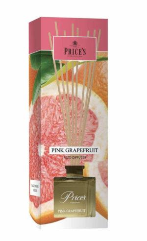 Price´s FRAGRANCE vonný difuzér Růžový grapefruit 100ml
