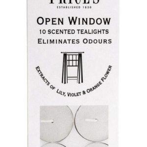 Price´s FRESH AIR vonné čajové svíčky Otevřené okno 30ks