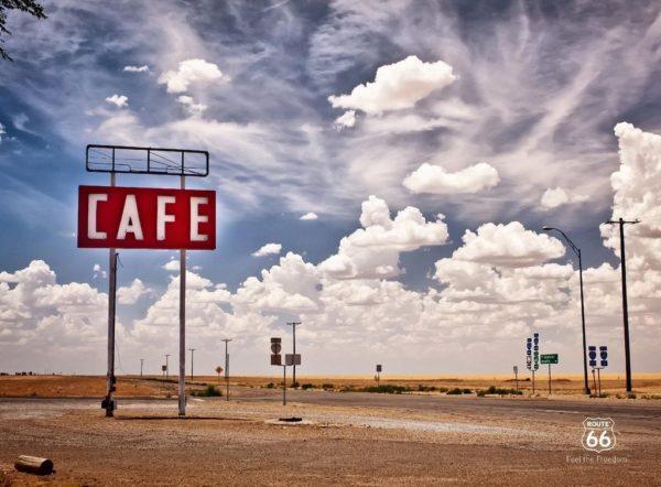 1Wall 1Wall fototapeta Route 66 315x232 cm
