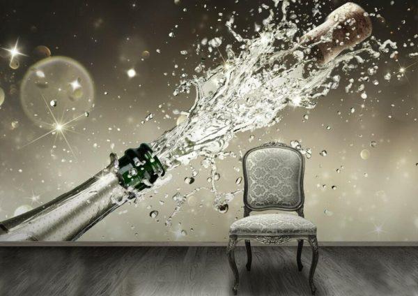 1Wall 1Wall fototapeta Šampaňské 315x232 cm