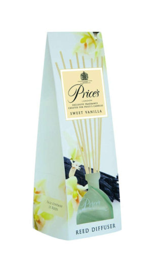 Price´s FRAGRANCE vonný difuzér Sladká vanilka 100ml