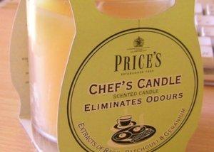 Price´s FRESH AIR vonná svíčka ve skle Svěží kuchyň 350g