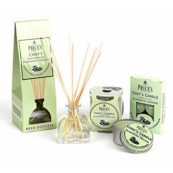 Price´s FRESH AIR vonné čajové svíčky Provoněná domácnost 30ks