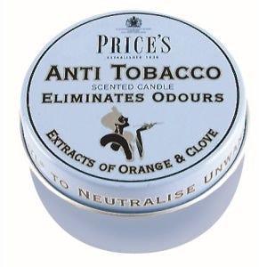 Price´s FRESH AIR vonné svíčky Anti tobacco 123g 3ks