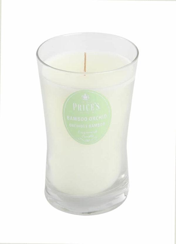 Price´s SIGNATURE vonná svíčka ve skle Bambusová orchidej XL 615g