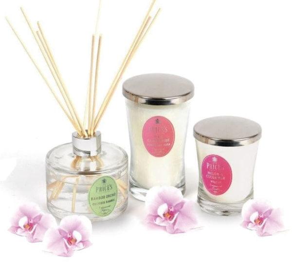 Price´s SIGNATURE vonná svíčka ve skle Purpurová růže XL 615g