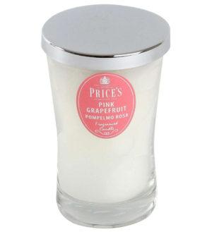 Price´s SIGNATURE vonná svíčka ve skle Růžový grapefruit XL 615g