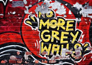Wizard+Genius W+G fototapeta Červené graffiti 366x254 cm