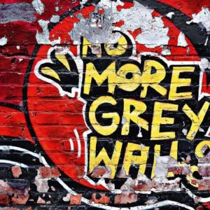 Wizard+Genius W+G fototapeta Červené graffiti 366×254 cm