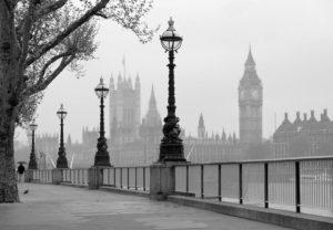 Wizard+Genius W+G fototapeta Mlha v Londýně 366×254 cm
