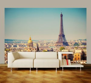 Wizard+Genius W+G vliesová fototapeta Paříž 366×254 cm