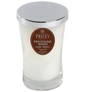Price´s SIGNATURE vonná svíčka ve skle Prestigious woods XL 615g