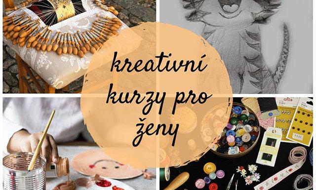 kreativní kurzy pro ženy