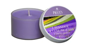 Price´s FRAGRANCE vonné svíčky Levandule&Lemongrass 123g 3ks