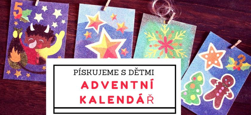 Fotografie:Pískování adventního kalendáře