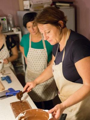 Kurz výroby čokoládových pralinek