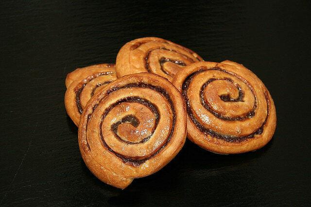 Fotografie:recept na vánoční skořiové sušenky - šneky