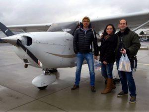 Vyhlídkový let Beskydy pro 3 osoby