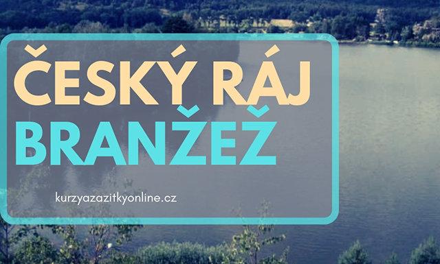 Fotografie: úvodní foto český ráj a vesnička branžež