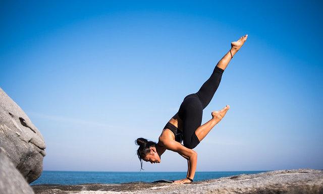 Fotografie: fitness cvičení jóga