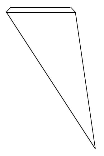 Fotografie: model letadla přední křídlo
