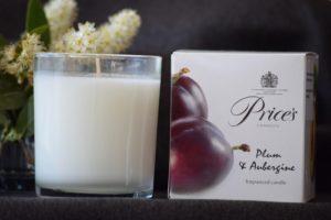 Price´s LIMITOVANÁ EDICE vonná svíčka ve skle Švestka & sladký lilek 350g