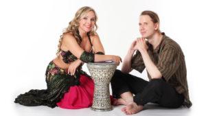 Orientální břišní tance – DRUM SOLO s bubeníkem